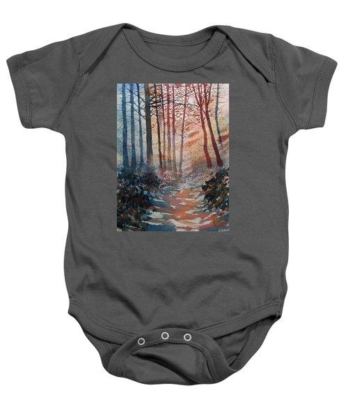 Wander In The Woods Baby Onesie
