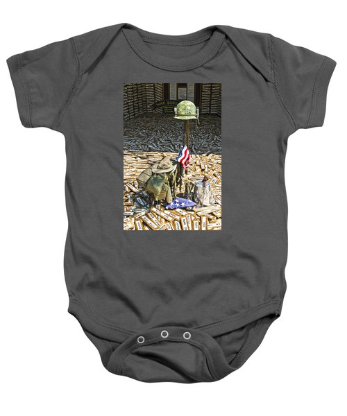War Dogs Sacrifice Baby Onesie
