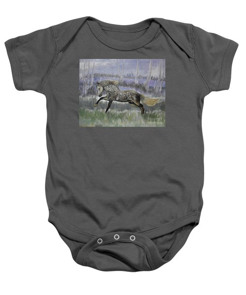 Warrior Of Magical Realms Baby Onesie