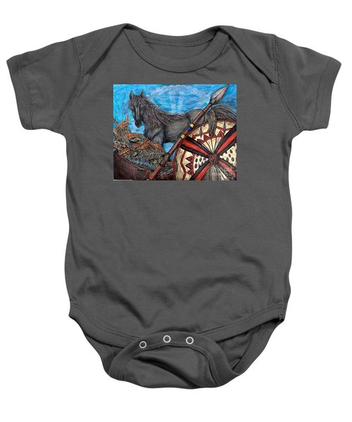 Warrior Spirit Baby Onesie