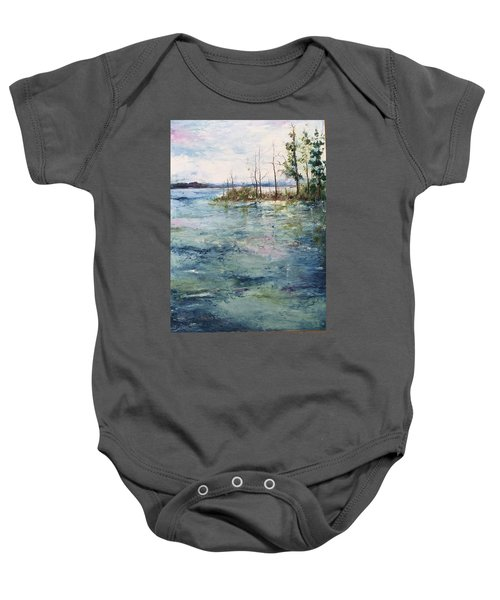 Washed By The Waters Series Baby Onesie