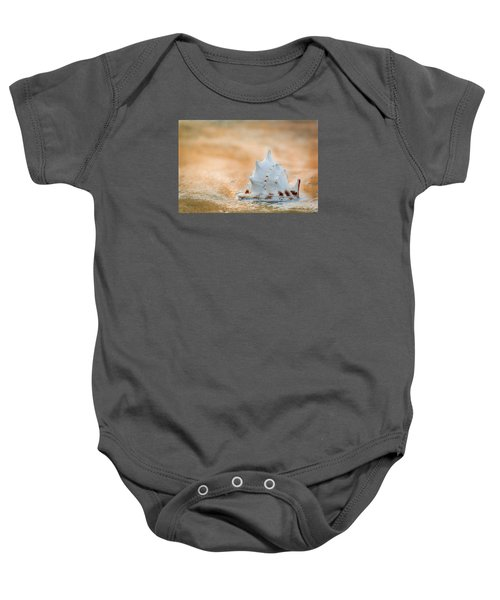 Baby Onesie featuring the photograph Washed Up by Sebastian Musial