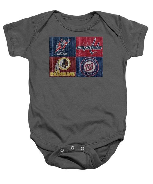 Washington Dc Sports Teams Baby Onesie