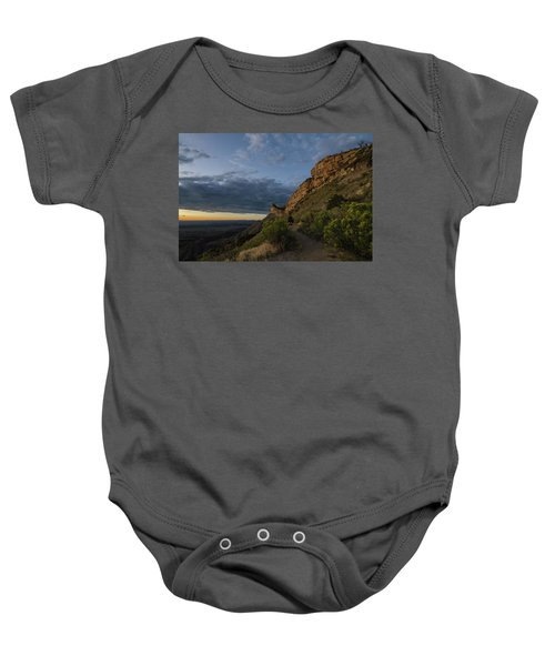 Watching The Sun Fade Baby Onesie