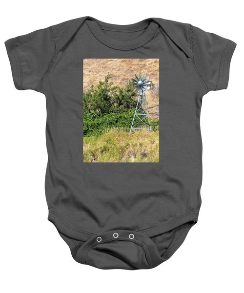 Water Aerating Windmill For Ponds And Lakes Baby Onesie