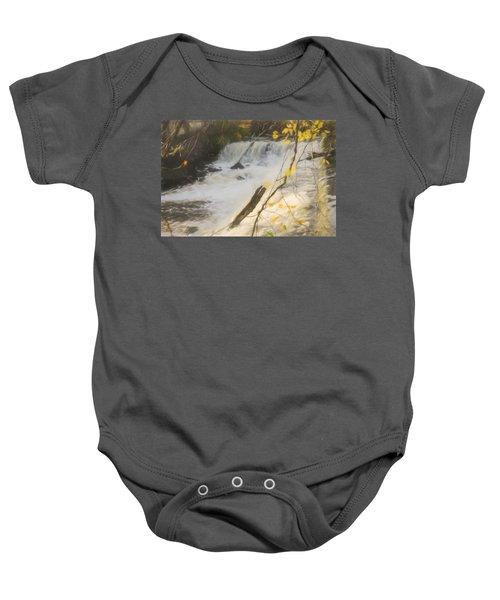 Water Over The Dam. Baby Onesie