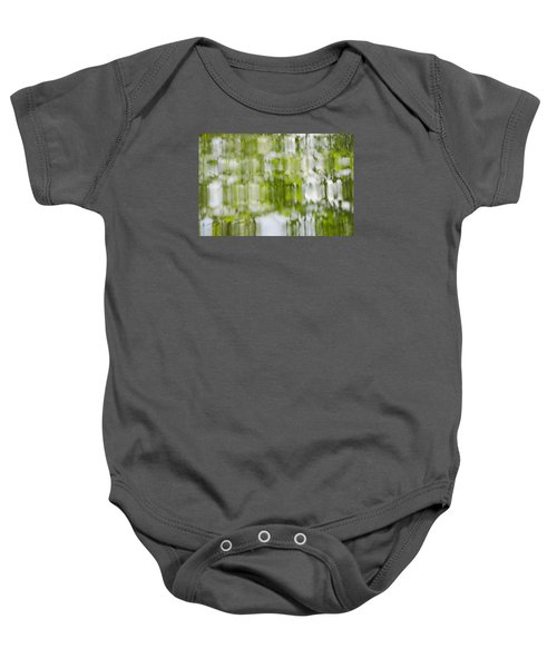 Water Reflections Baby Onesie