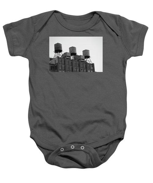 Water Towers Baby Onesie