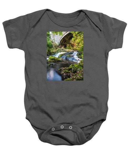 Water Under The Bridge Baby Onesie