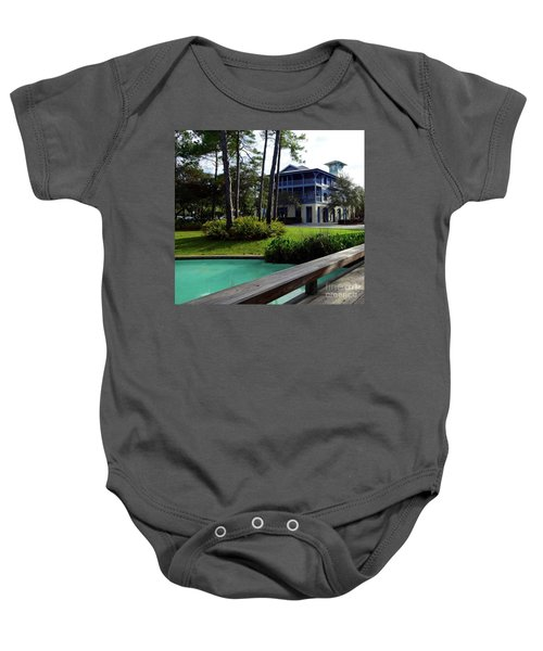 Watercolor Florida Baby Onesie