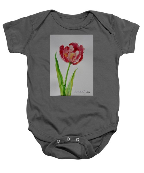 Watercolor Series No.  228 Baby Onesie