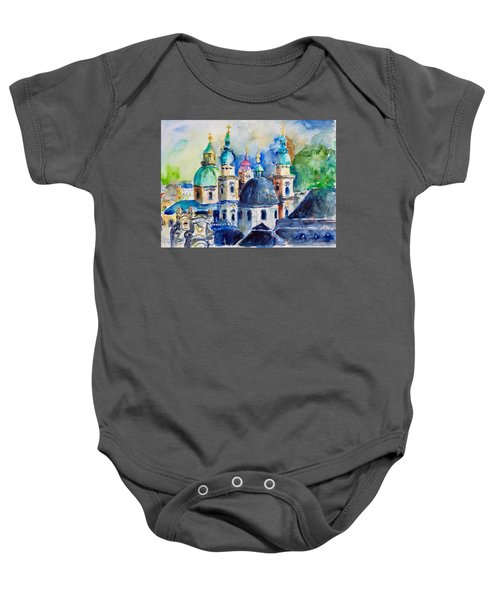 Watercolor Series No. 247 Baby Onesie