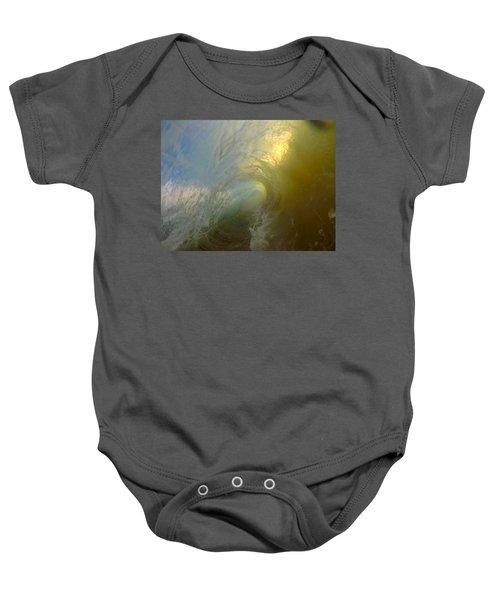Watercolor Vortex Baby Onesie