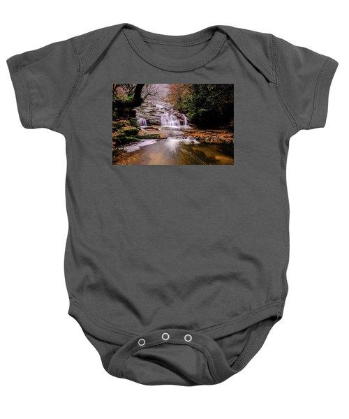 Waterfall-10 Baby Onesie