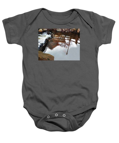 Waterfall From Calm Waters Baby Onesie