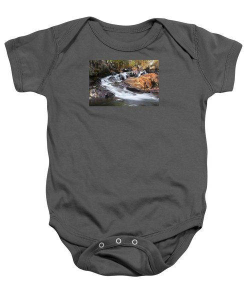 Waterfall In Lee Vining Canyon 2 Baby Onesie