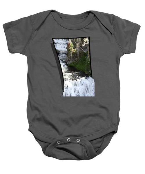 Waterfall Baby Onesie by Shane Bechler
