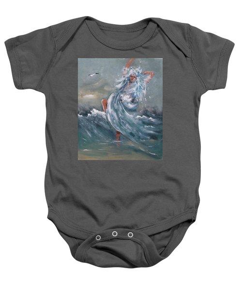 Wave Within Baby Onesie