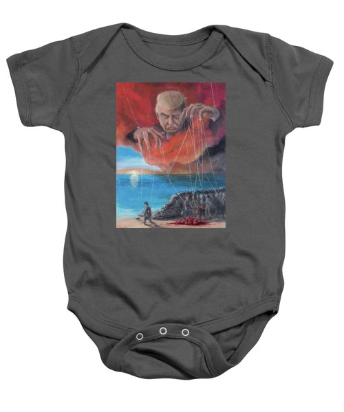We Traded Our Hearts For Stones Baby Onesie