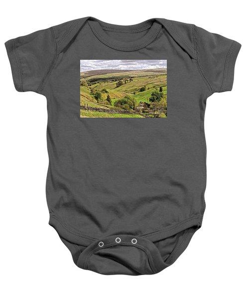 Weardale Landscape Baby Onesie
