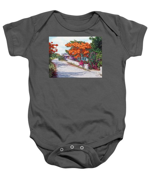 Welcome To Current Baby Onesie