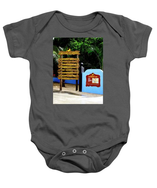 Welcome To Labadee Baby Onesie
