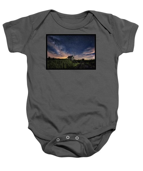 Welcome To The Universe Baby Onesie