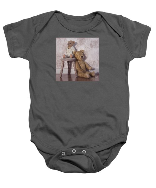 Baby Onesie featuring the photograph Well Loved by Linda Lees