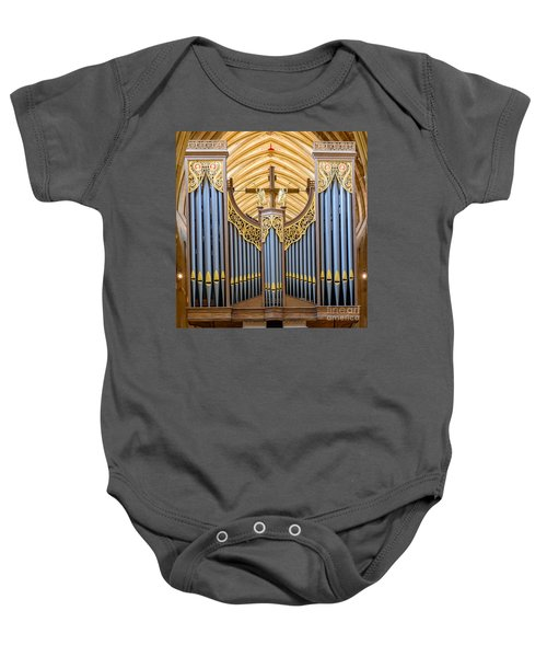 Wells Cathedral Organ Baby Onesie