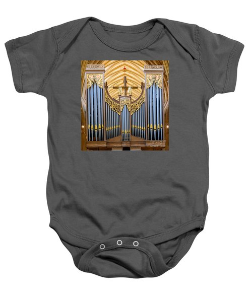 Wells Cathedral Organ Baby Onesie
