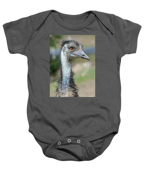 Emu 2 Baby Onesie by Werner Padarin