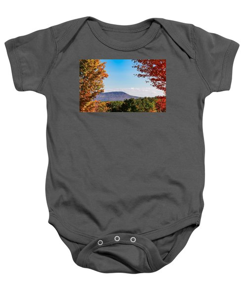 Westhampton View Of Mount Tom Baby Onesie