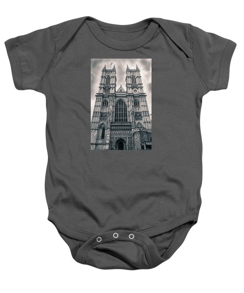Westminister Abbey Bw Baby Onesie