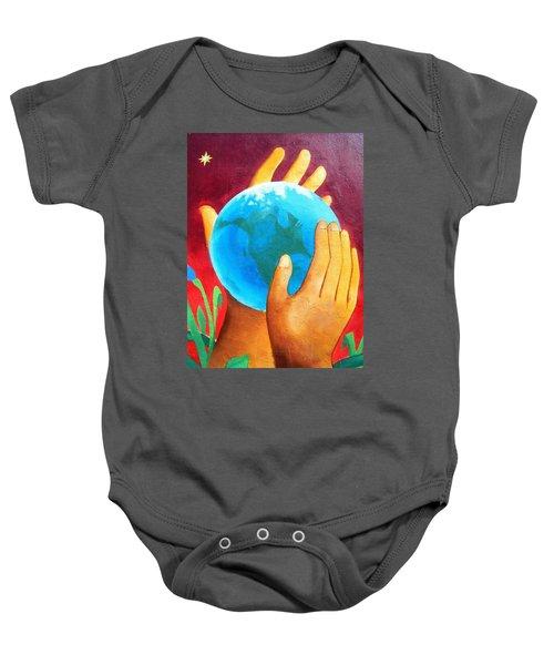 What A Wonderful World ... Baby Onesie