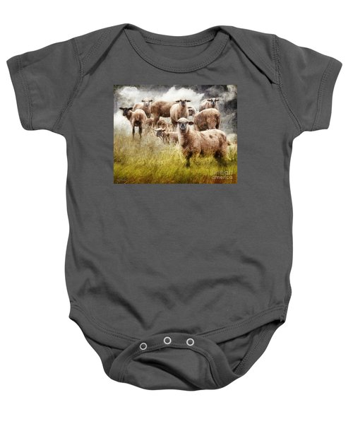 What You Lookin' At? Baby Onesie