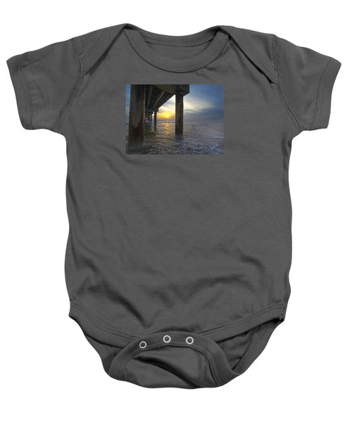 Where The Sand Meets The Surf Baby Onesie