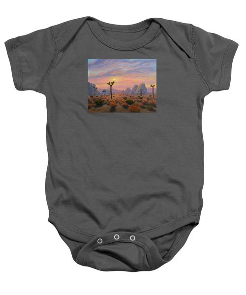 Where The Sun Sets Baby Onesie