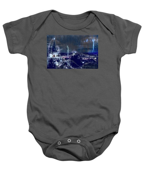 Whimsical Budapest Baby Onesie
