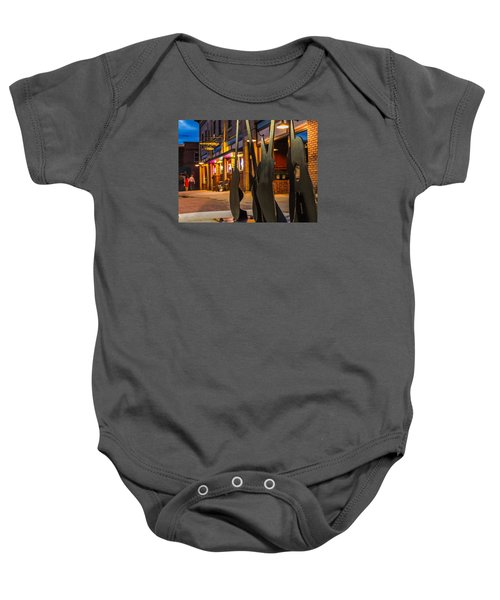 Whiskerz And Guitar Icons Baby Onesie