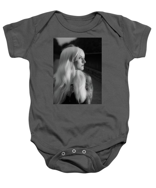 White Heat Baby Onesie