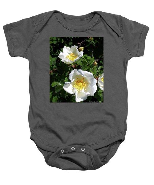 White Perfection Baby Onesie