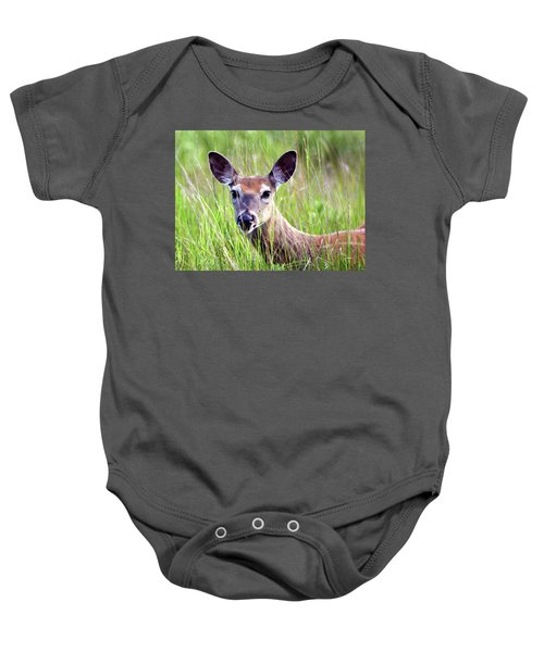 White Tail Doe Baby Onesie