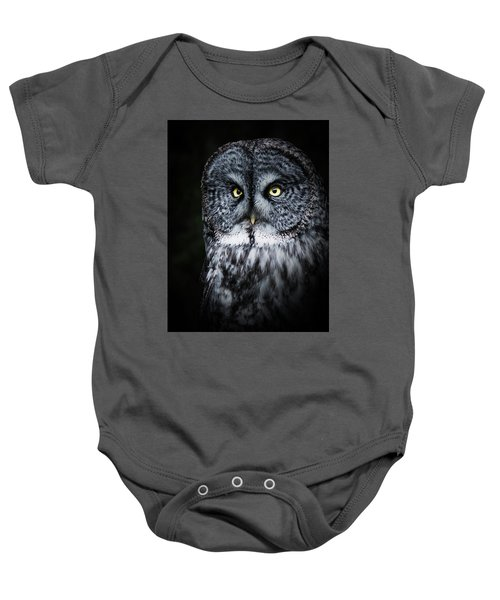 Whooo Are You Looking At? Baby Onesie