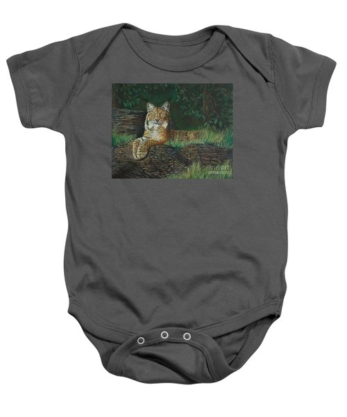 The Ever Watchful Lynx Baby Onesie