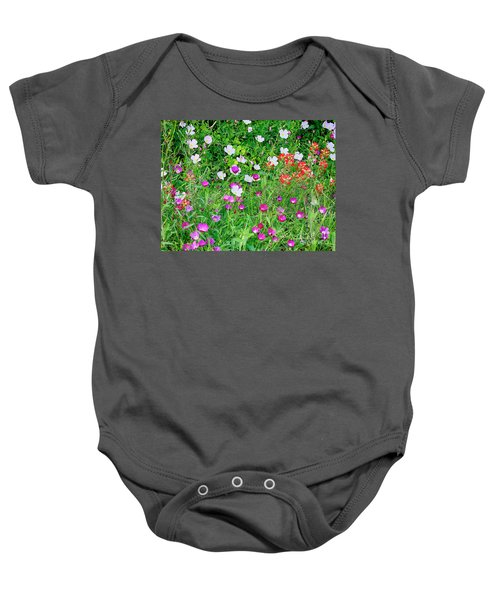 Wild Color Patch Baby Onesie