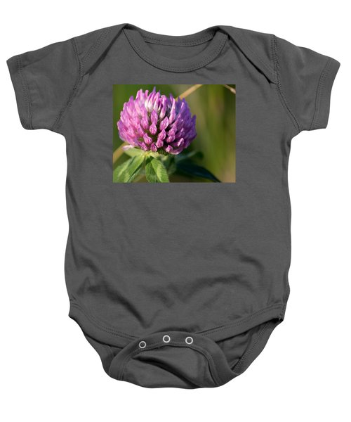 Wild Flower Bloom  Baby Onesie
