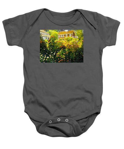 Wild Rose Country Baby Onesie