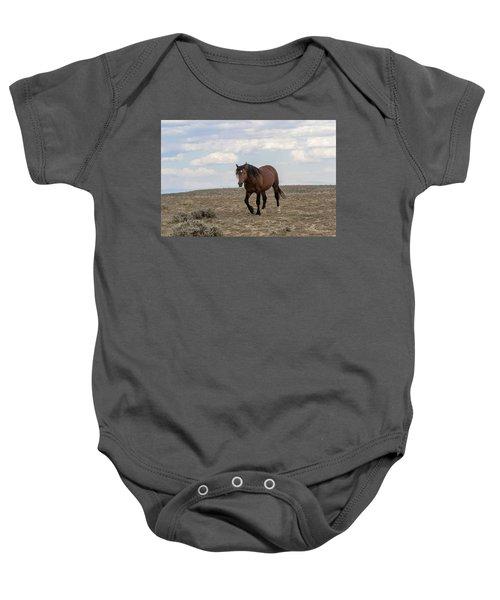 Wild Stallion Baby Onesie