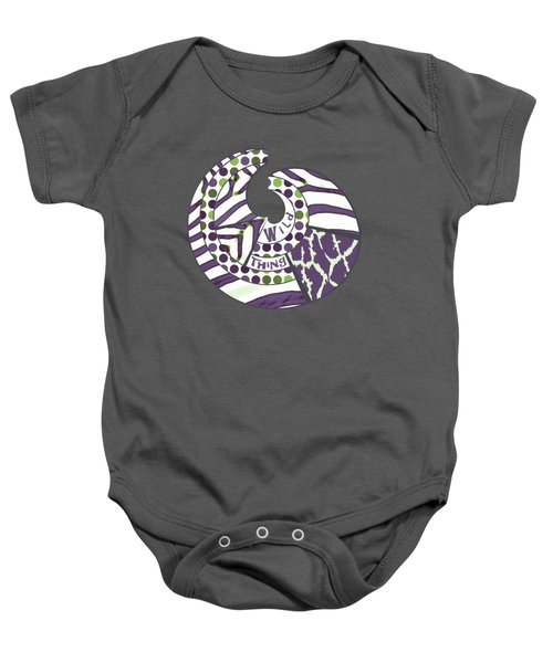 Wild Thing Baby Onesie by Methune Hively