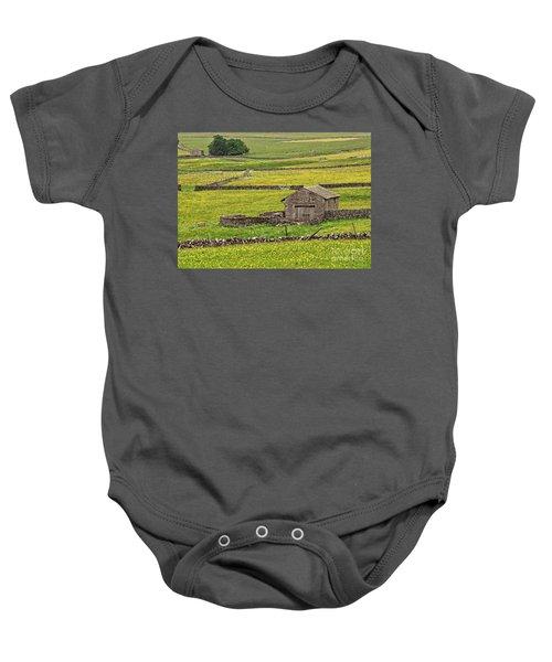 Wildflower Meadows Baby Onesie